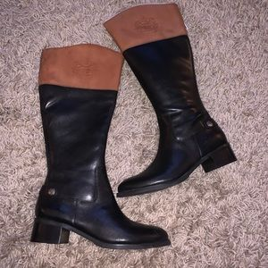 Etienne Aigner Chip riding boot wide calf